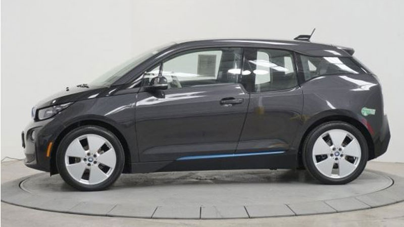Police found Liang's grey electric 2014 BMW i3 parked near Rupert Park Pitch and Putt on Jan. 11. (Vancouver Police Department / handout)