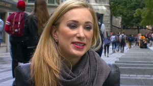 Former Olympic figure skater Joannie Rochette is studying medicine at Montreal's McGill University.