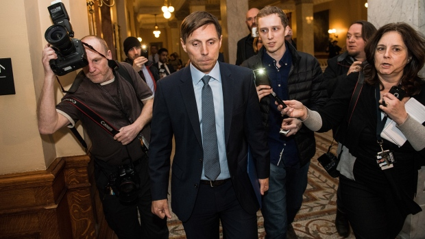Ontario PC Leader Patrick Brown at Queen's Park