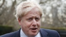 Britain's Foreign Secretary Boris Johnson arrives to hold a meeting with U.S. Secretary of State Rex Tillerson, in London, Monday, Jan. 22, 2018. (AP Photo/Kirsty Wigglesworth)