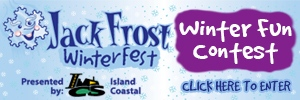 Jack Frost Winter Fun Contest button