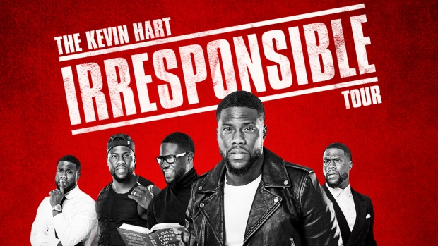 Kevin Hart is bringing his 'Irresponsible' tour to Dublin