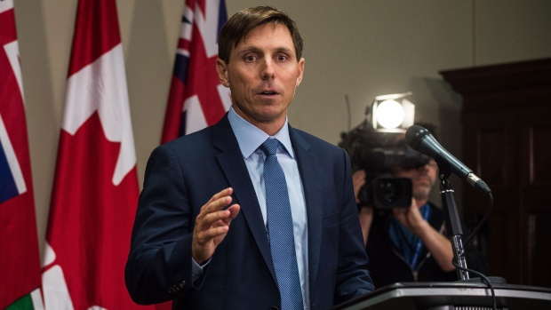 Patrick Brown tweets for first time since resignation