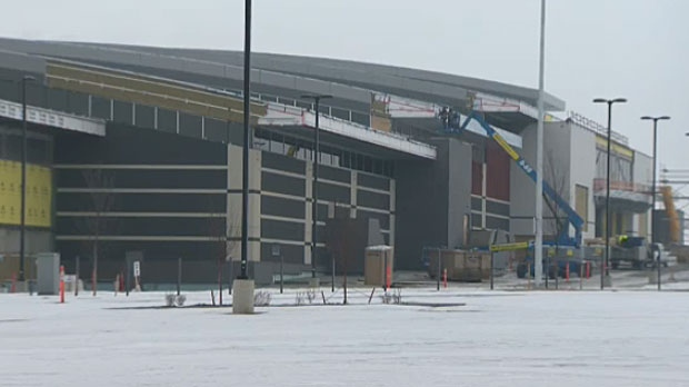 New Horizon Mall, near CrossIron Mills on Calgary city limits, is set to open this summer.