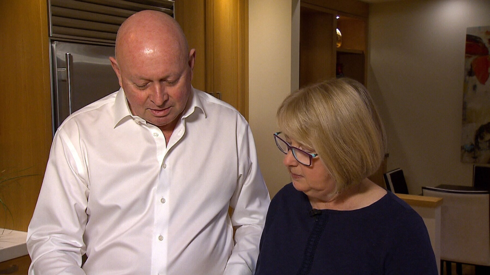 Janet Whitehead and her husband, Alan, were shocked to learn that their former home tested positive for high levels of radon.