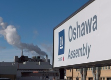 General Motors in Oshawa, Ont.