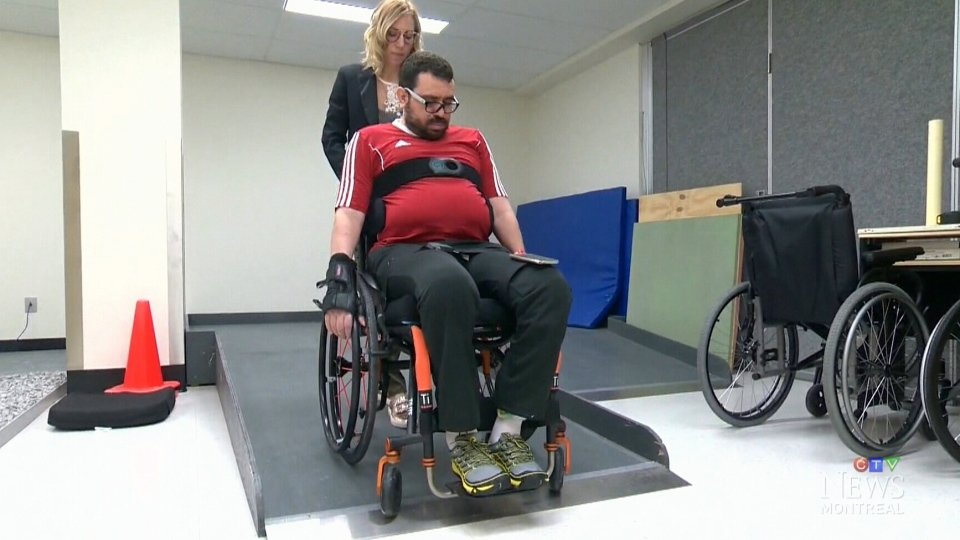 Aymen Derbali was paralyzed in the Quebec City mosque shooting on Jan. 29, 2017.