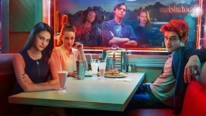 The cast of The CW's 'Riverdale' is seen in this handout photo. (File)