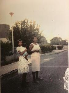 Melonie Biddersingh and her mother, Opal Austin