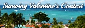 Sunwing Valentine's Contest