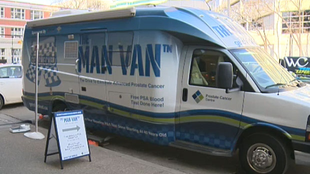 Women for Men's Health says the Man Van is a clinic that takes the professional to the men who need care.