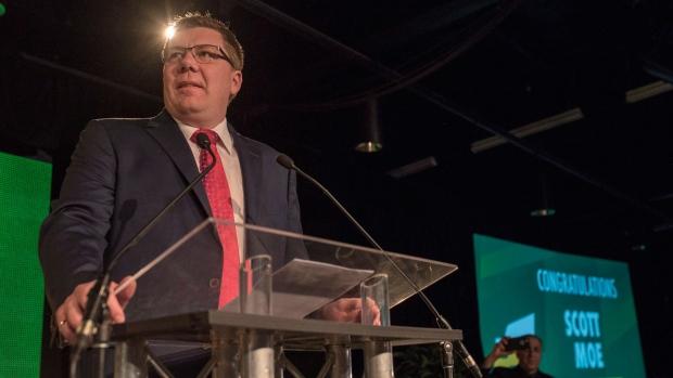 Newly-elected Saskatchewan Premier Scott Moe