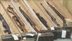 Quebec's long-gun registry, first announced in 2012, will go into effect on Jan. 29, 2018, announced Public Safety Minister Martin Coiteux on Sunday. (CTV Montreal)