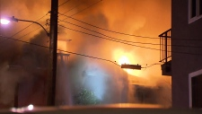Broughton Street fire
