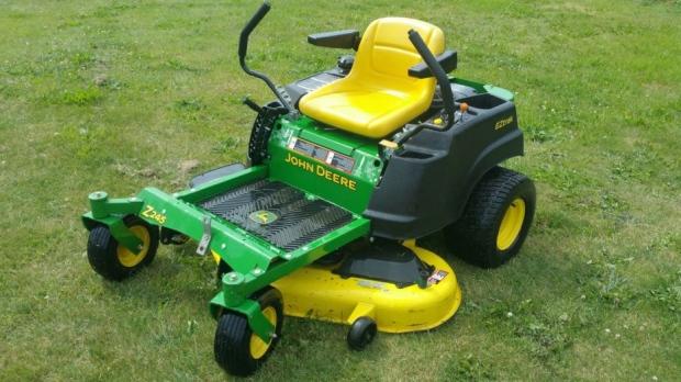 stolen lawnmower