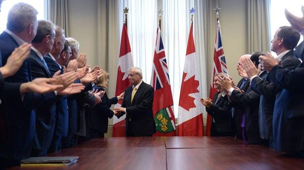 Ontario PC party interim leader Vic Fedeli