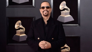 Ice-T arrives at the 60th annual Grammy Awards at Madison Square Garden on Sunday, Jan. 28, 2018, in New York. (Photo by Evan Agostini/Invision/AP)