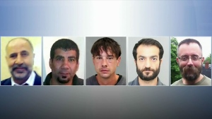 (From left to right) Majeed Kayhan, Soroush Mahmudi, Dean Lisowick, Selim Esen, and Andrew Kinsman. Toronto police have laid murder charges against 66-year-old landscaper Bruce McArthur in connection with their deaths.