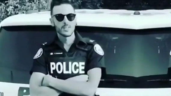 Const. Vito Dominelli is one of two suspended Toronto police officers, allegedly for consuming a marijuana edible while on-duty.