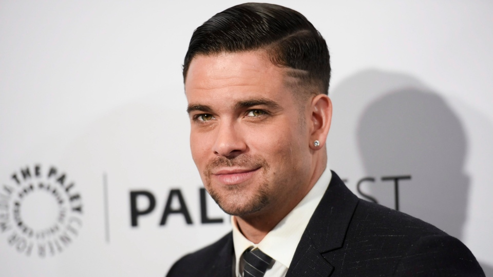 Mark Salling arrives at the 32nd annual Paleyfest