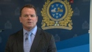 Supt. Pat Dietrich of Waterloo Regional Police is shown in this file image taken from video.