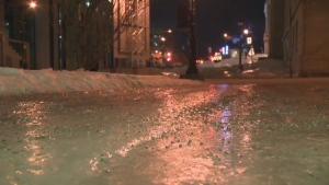 Montreal ice streets