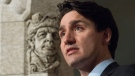 Canadian Prime Minister Justin Trudeau speaks during an announcement regarding Canada's commitment to the International Decade for People of African Descent, on Parliament Hill, in Ottawa on Tuesday, January 30, 2018. THE CANADIAN PRESS/Adrian Wyld