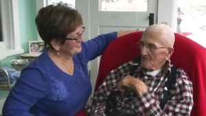 CTV Atlantic: N.B. man celebrates 107 years