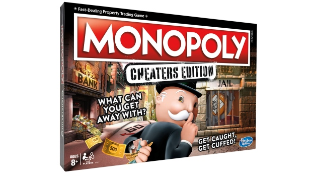 Monopoly cheaters edition caters to the worst in all of us.