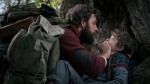 "This image released by Paramount Pictures shows John Krasinski, left, and Noah Jupe in a scene from ""A Quiet Place."" The 25th South by Southwest Film Festival will kick off with the supernatural thriller starring Krasinski and his wife Emily Blunt. (Jonny Cournoyer/Paramount Pictures via AP)"