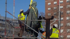 Cornwallis statue removed