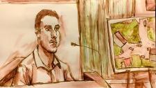 Sheldon Stanley courtroom sketch