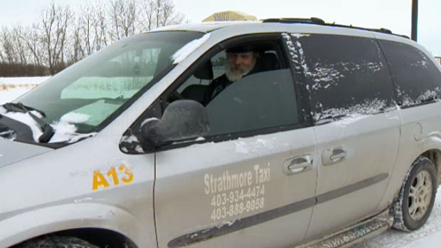 Martin Deputer, owner of Strathmore Taxi, says he plans to defy Strathmore's bylaw changes regarding taxi driver requirements when the bylaw goes into effect on February 23, 2018