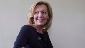 Ontario Progressive Conservative party leadership candidate Christine Elliott is photographed in her office at Queen's Park in this file photo. THE CANADIAN PRESS/Chris Young
