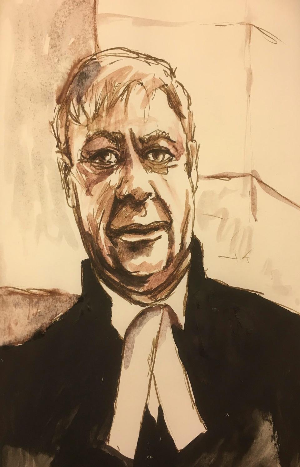 Crown prosecutor Bill Burge