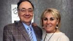 Barry and Honey Sherman are seen in an undated file photo.