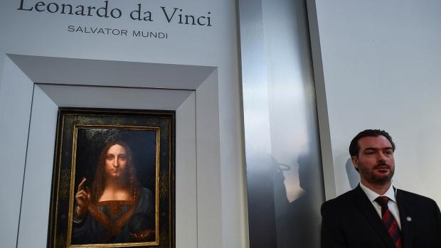 """Leonardo da Vinci's """"Salvator Mundi"""""""
