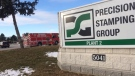 Precision Stamping Group in Oldcastle, Ont., on Friday, Feb. 2, 2018. (Michelle Maluske / CTV Windsor)