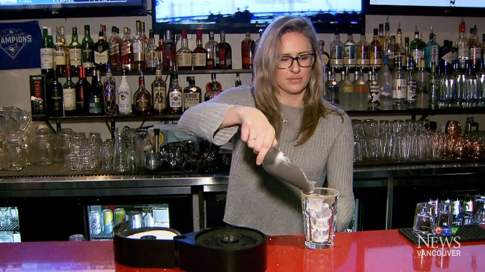 Phat sports Bar owner Jessica Price appears on CTV News Thursday, Feb. 1, 2018.