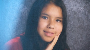 Cormier has pleaded not guilty to second degree murder for the 2014 death of 15-year-old Tina Fontaine, pictured.