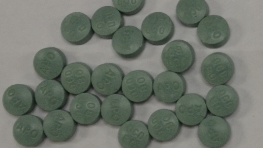 Pills seized