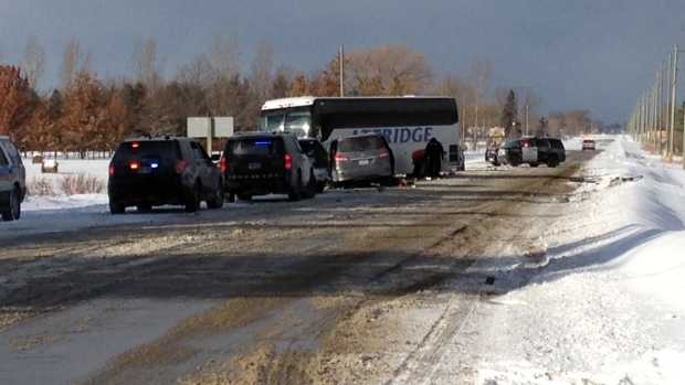 Hamilton students returning home after bus crash in Stayner