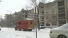 Firefighters were called to the fire at an apartment building on 128 Ave. and 65 St. on Friday, February 2, 2018.