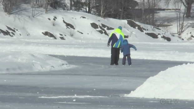 Winter in the north offers many outdoor activities