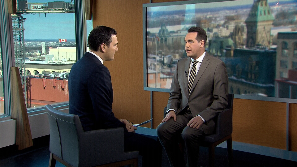 NDP MP Erin Weir on CTV's Question Period with Evan Solomon.