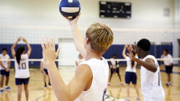 Teens fitness sports