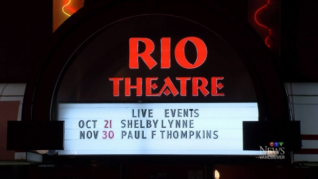 The Rio Theatre's owners have until Tuesday to make an offer to purchase their building. (CTV)