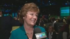 Alanna Koch talks to CTV at leadership convention.