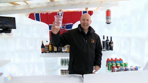 Man Cave Northwestern Ontario : Putting a man cave on ice ctv news