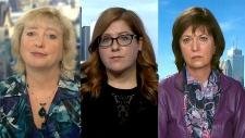 Marilyn Gladu, Tracey Ramsey, Pam Damoff